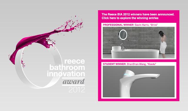 Обзор и победители Reece Bathroom Innovations Award 2012
