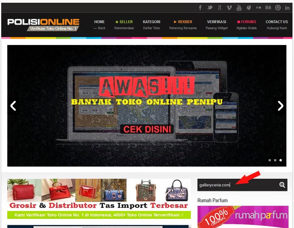 Polisionline.com | Situs Verifikasi Toko Online