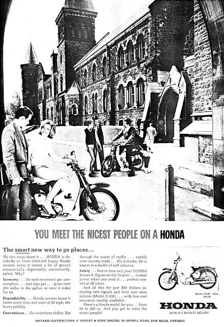 Honda C-100