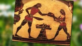 ΟΜΗΡΙΚΑ ΕΠΗ... Αρνί σούβλας & κοκορέτσι στην αρχαία Ελλάδα!!
