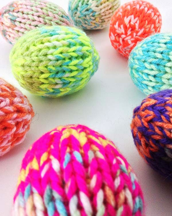 Knitting Easter Eggs : A whole new premier razzle dazzle easter eggs