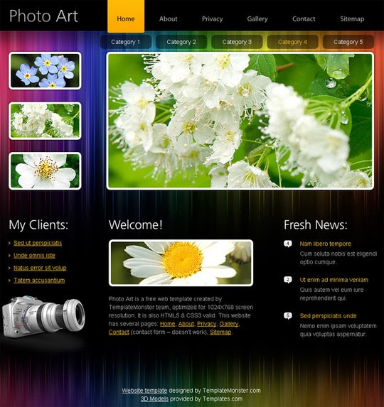HTML5 High Quality Templates