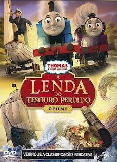 Thomas e Seus Amigos: A Lenda do Tesouro Perdido Dublado