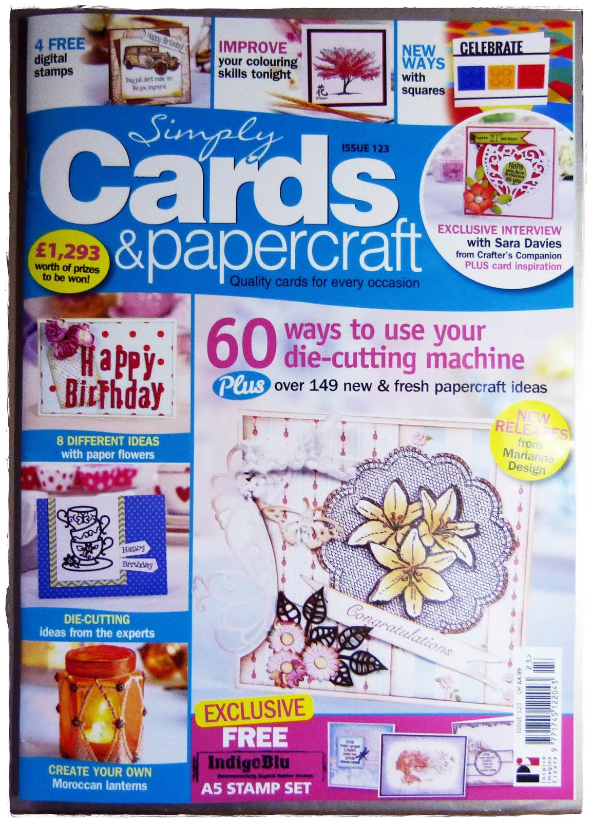 Published Simply Cards & Papercrafts Issue 123