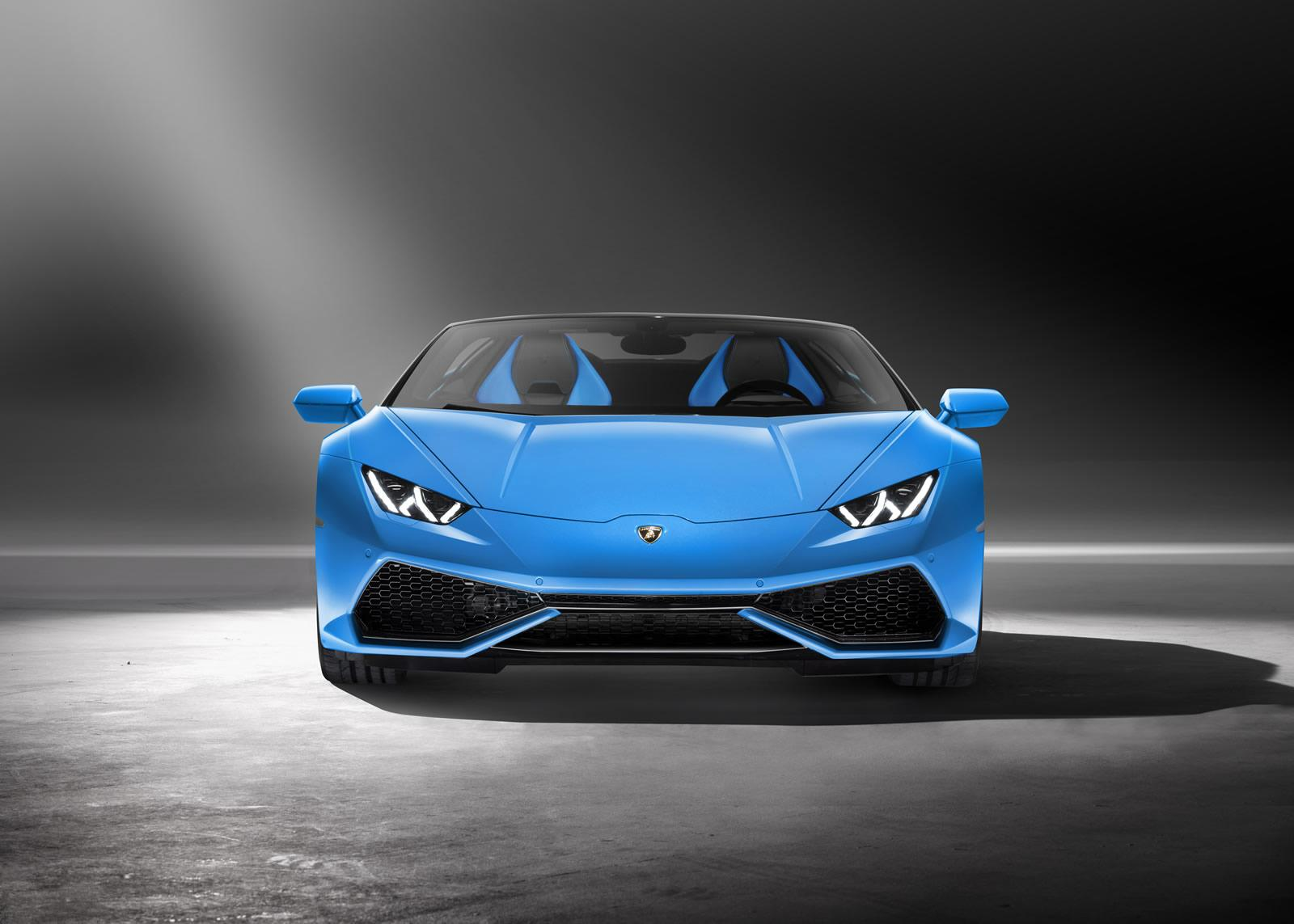 official lamborghini spyder huracan 2016 new photos and details garage car. Black Bedroom Furniture Sets. Home Design Ideas