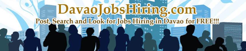 Davao Jobs Hiring 2013
