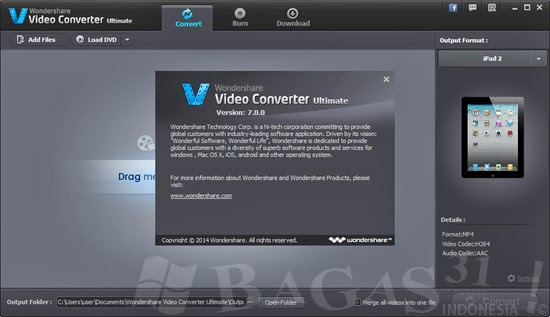 Wondershare Video Converter Ultimate 7.0.0 Full Patch 2