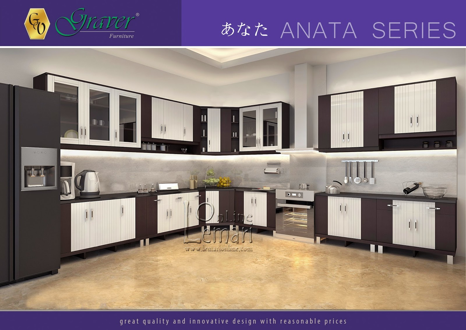 Kehangatan sudut ruangan anda akan kami hiasi dengan Anata Series