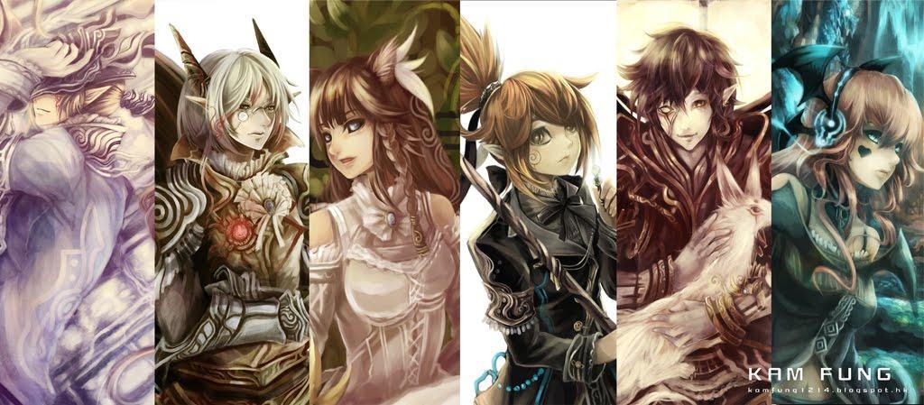 劍陸の描画世界