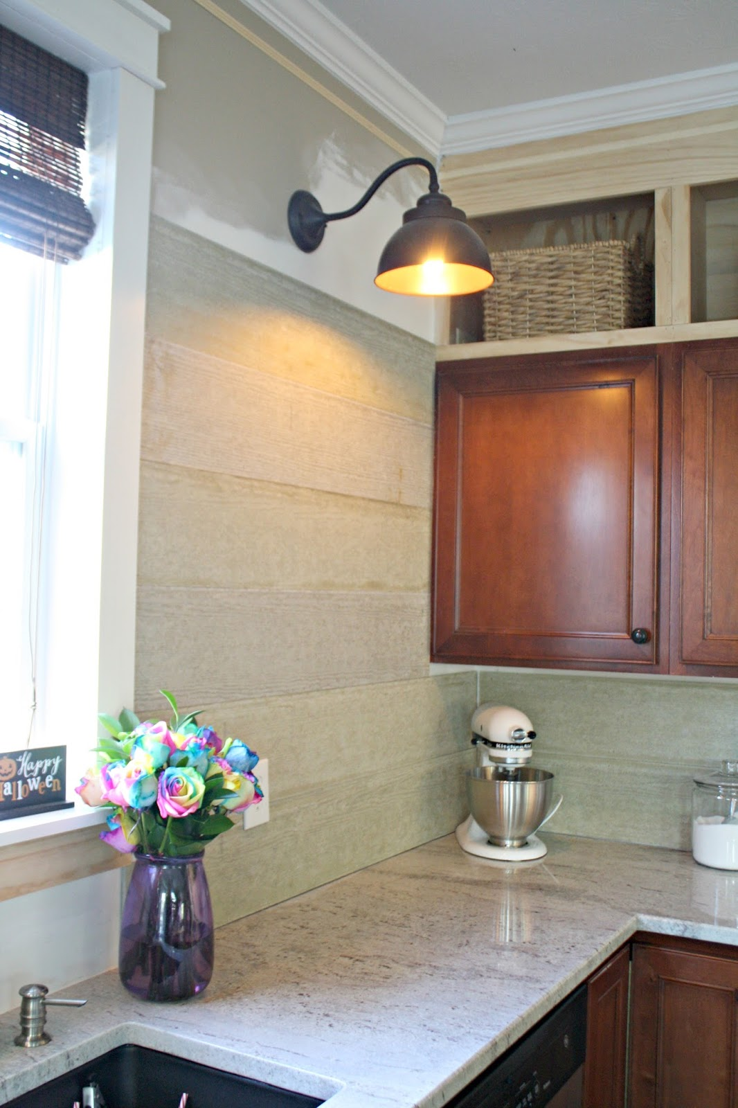 My unusual backsplash choice from thrifty decor chick fiber cement boards in kitchen dailygadgetfo Choice Image