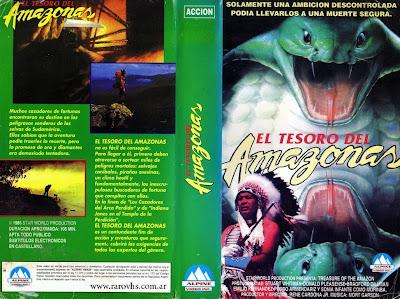 El tesoro del amazonas (1985) René Cardona Jr.