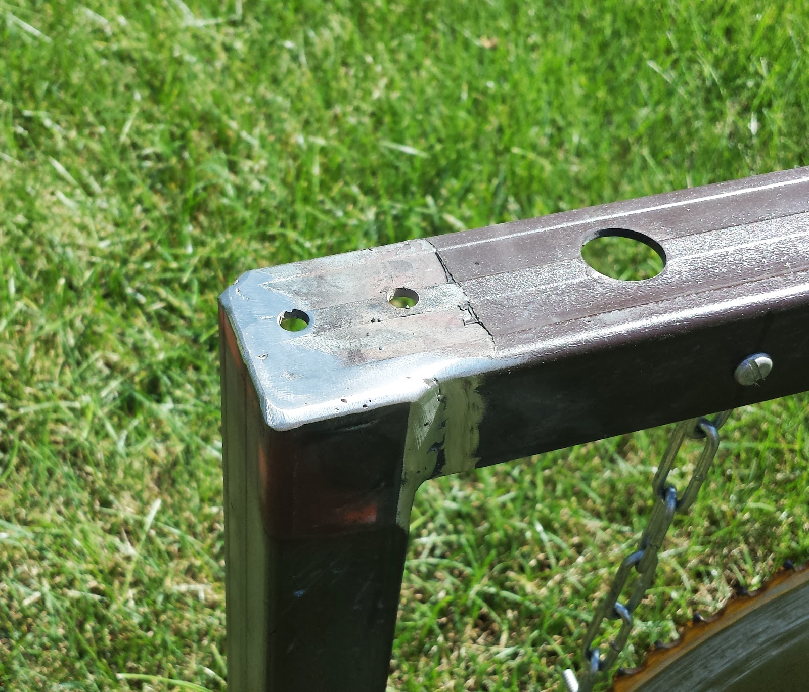 how to mount cut off blade to die grinder