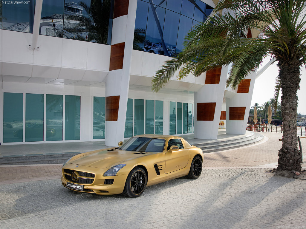 wallpapers hd for mac: Mercedes Benz SLS AMG Coupe Yellow Color ...
