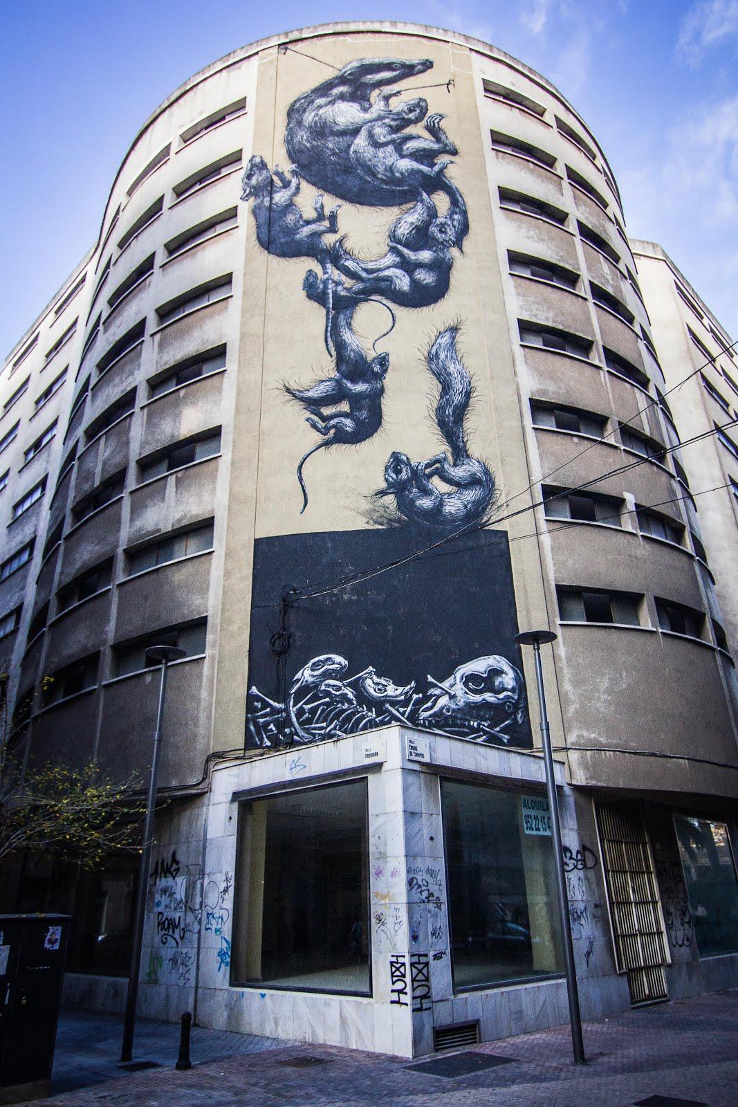 By Belgian Street Artist ROA