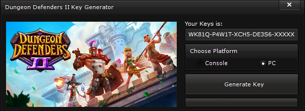 Windows 7 Key Generator >> Dungeon Defenders II CD Key Generator ( free Download ) NO ...