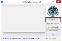 TGH Icon Converter 1.4 - Program untuk membuat gambar icon