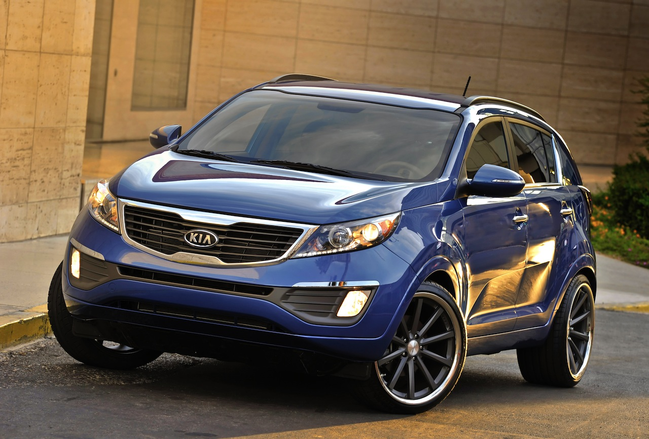 Most wanted cars kia sportage 2013