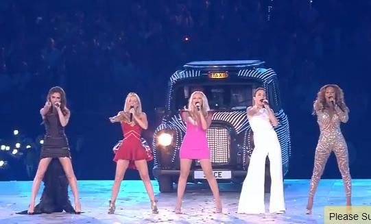 spice girls london olympics