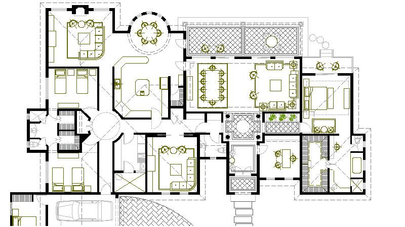2 dise o e instalaci n de una red local redes for Simbologia arquitectonica para casas