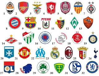 Uefa Football Club Logos Uefa champion league club