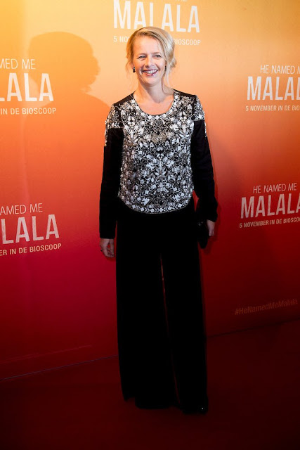 Princess Mabel At The premiere Of The Film 'He Named Me Malala'