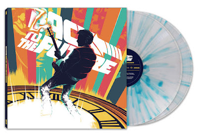 Back to the Future Soundtrack Vinyl Records by Mondo with artwork by Matt Taylor