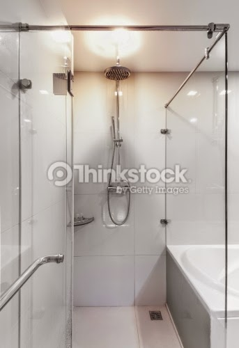 photo credit: thinkstockphotos (Key Maintenance for Your Ceramic Tile Shower Enclosure and Bathroom Floor)