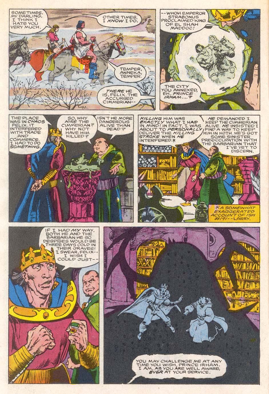 Conan the Barbarian (1970) Issue #193 #205 - English 5