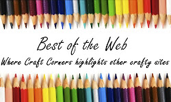 I was featured on Craft Corners Best of the Web