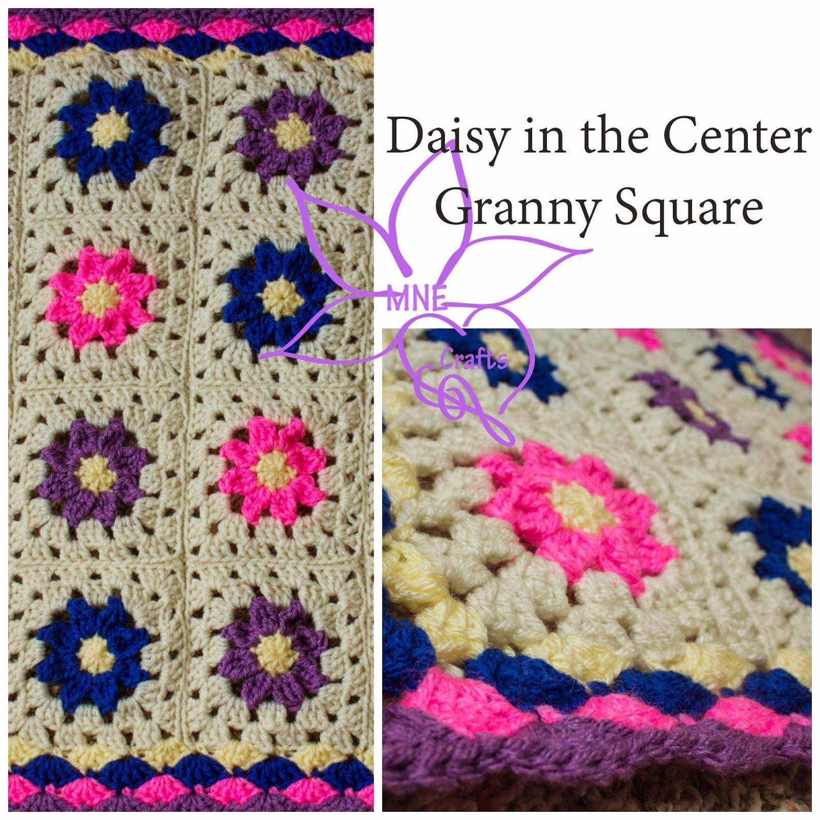 MNE Crafts: Random Pattern Find - Daisy Granny Square