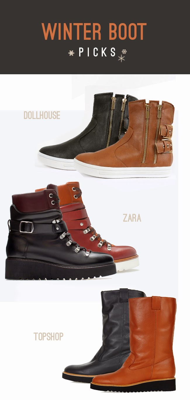 Winter Snow Boot Picks - Cleveland Ohio fashion blog