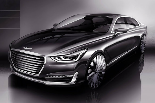 Genesis G90 - sucessor do Hyundai Equus