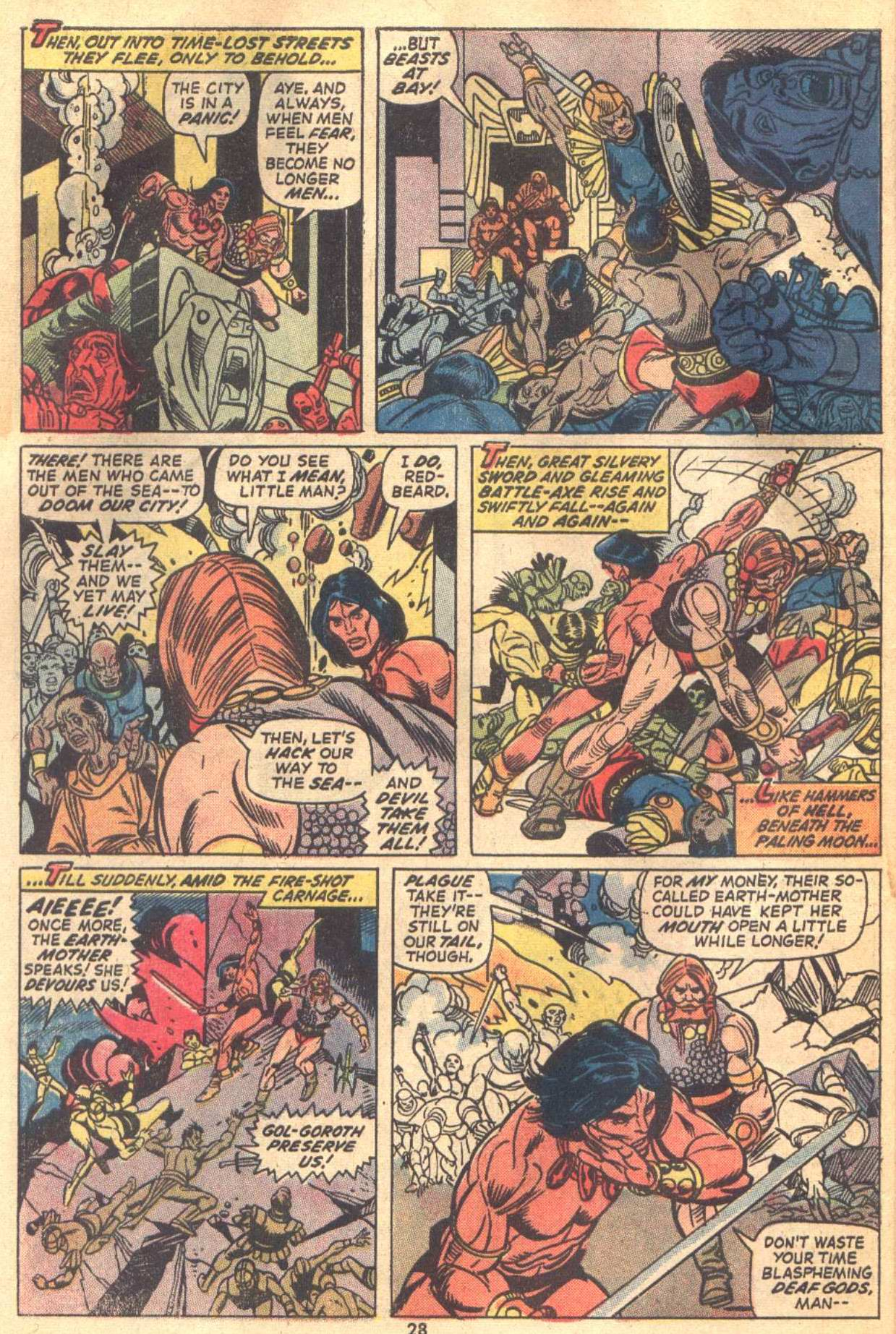 Conan the Barbarian (1970) Issue #18 #30 - English 21