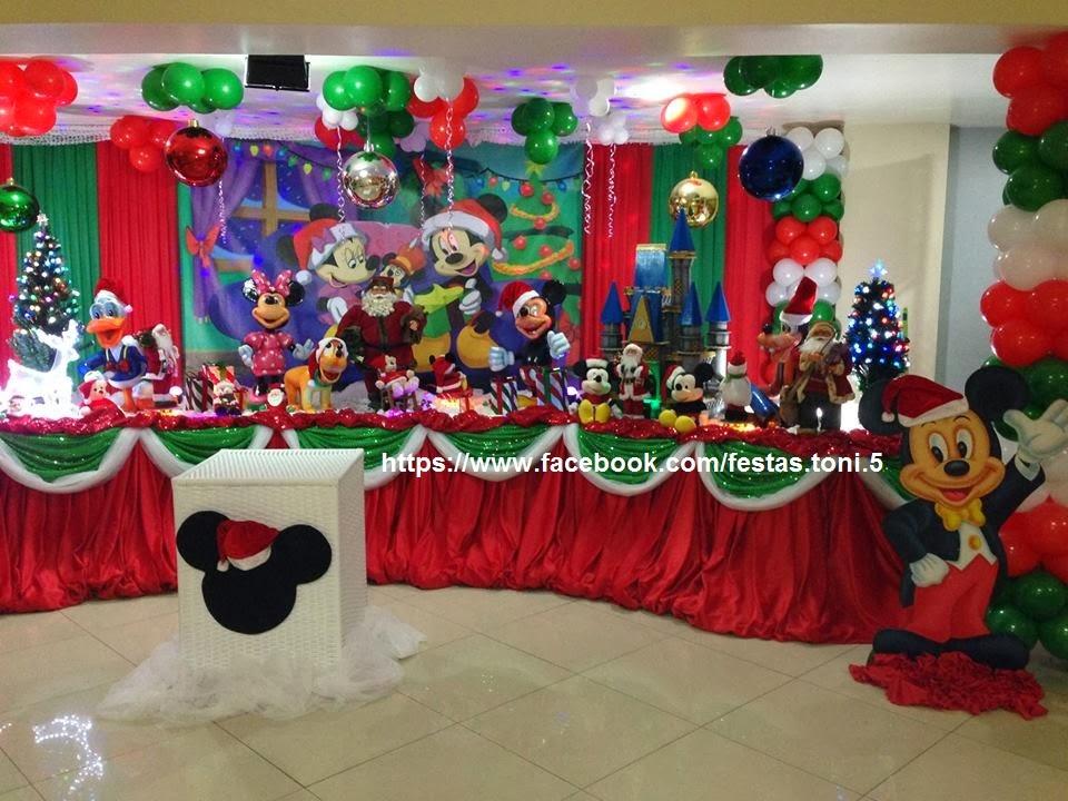 decoracao festa natal:Festas Toni – Decoração de Festa Infantil: Mickey e Minnie no Natal