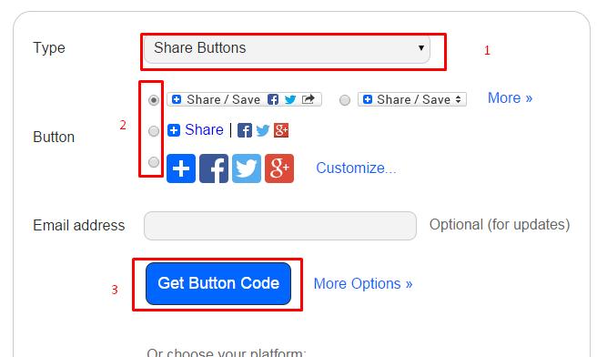 Membuat Tombol Share Otomatis untuk Website Atau Blog Anda