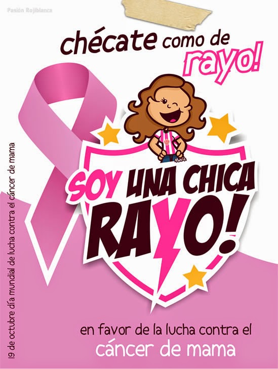 ¡Chécate como de Rayo!