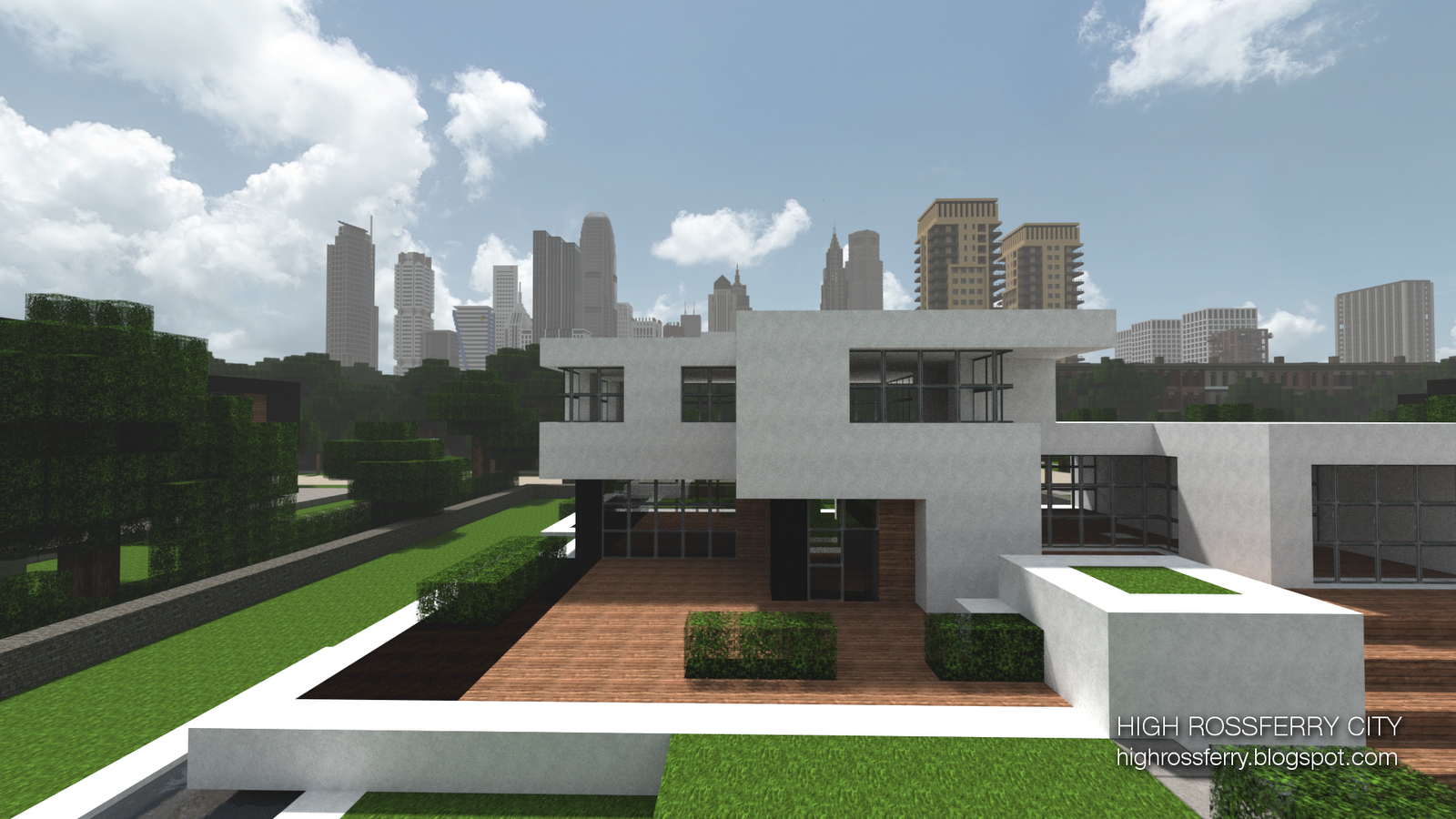 High rossferry city the most detailed city in minecraft screenshots show your creation minecraft forum minecraft forum