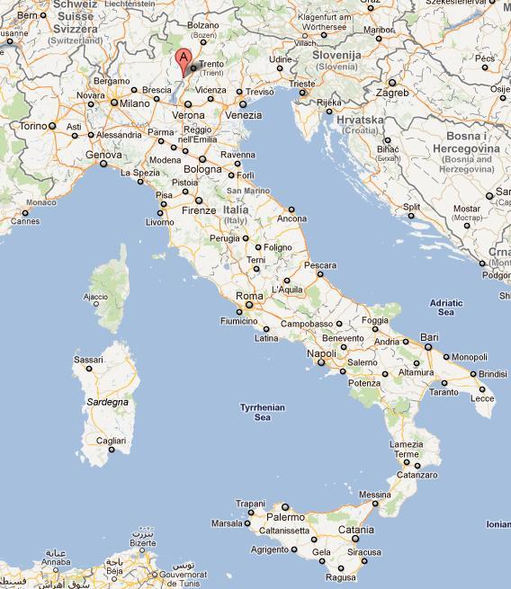 Riva Del Garda Italy  city photos gallery : del Personale: Soggiorni Militari: Base Logistica Riva del Garda ...