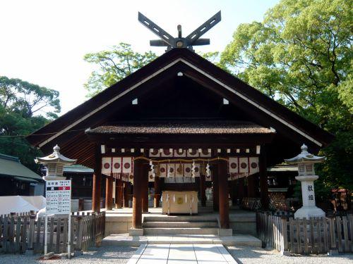 大鳥大社拝殿