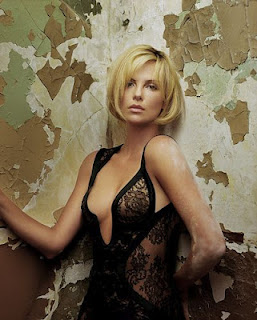 charlize theron naked topless