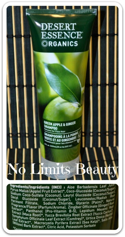 iHerb - Dessert Essence Green Apple & Ginger Shampoo