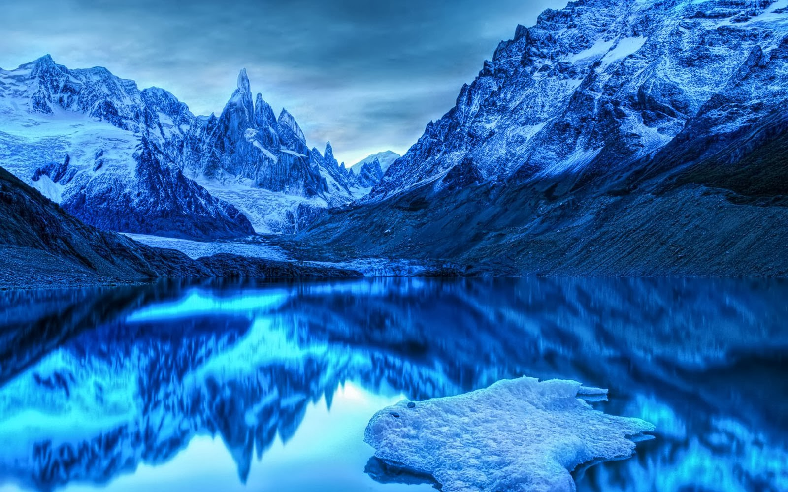 wallpapers icy mountains wallpapers