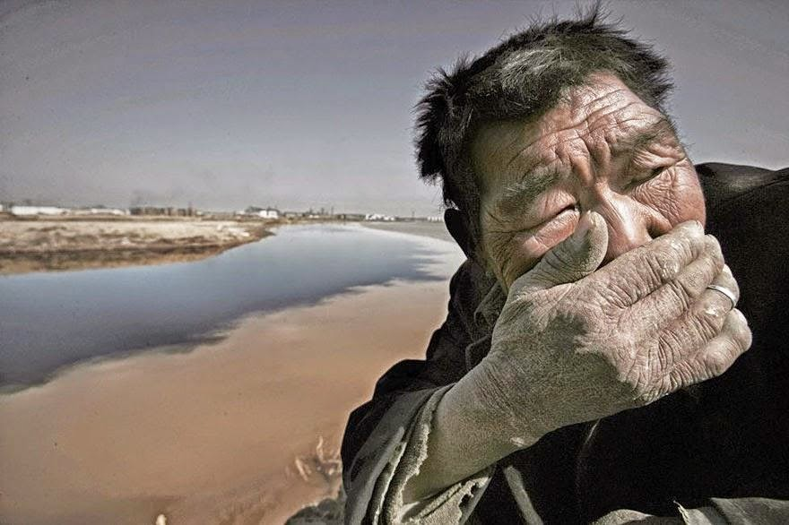 Sungai Kuning di Mongolia