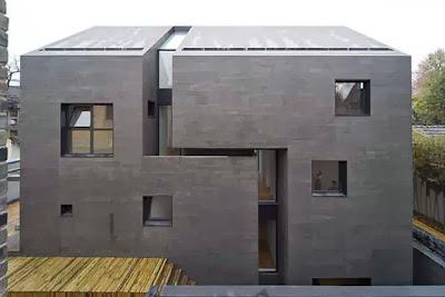 rumah unik modern