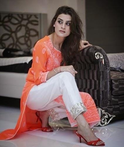 Lucknowi Chiffon Suits 2014
