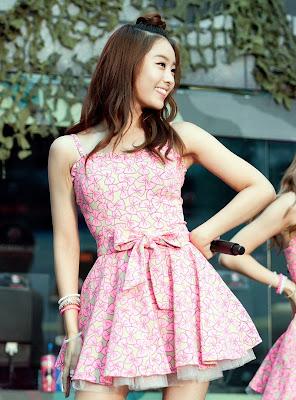 Jieun SECRET Cutie in Pink