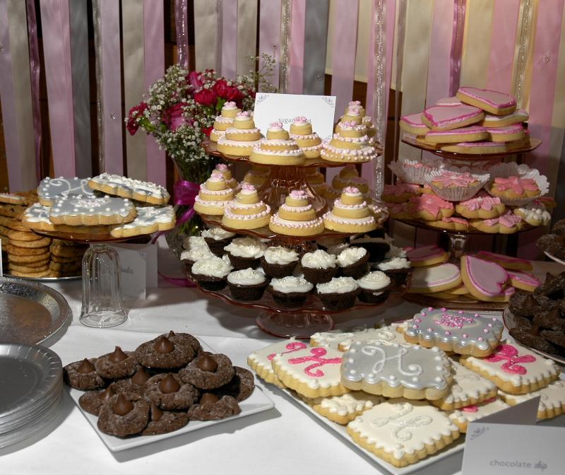 Wedding Cookie Table: Country Cupboard Cookies Blog
