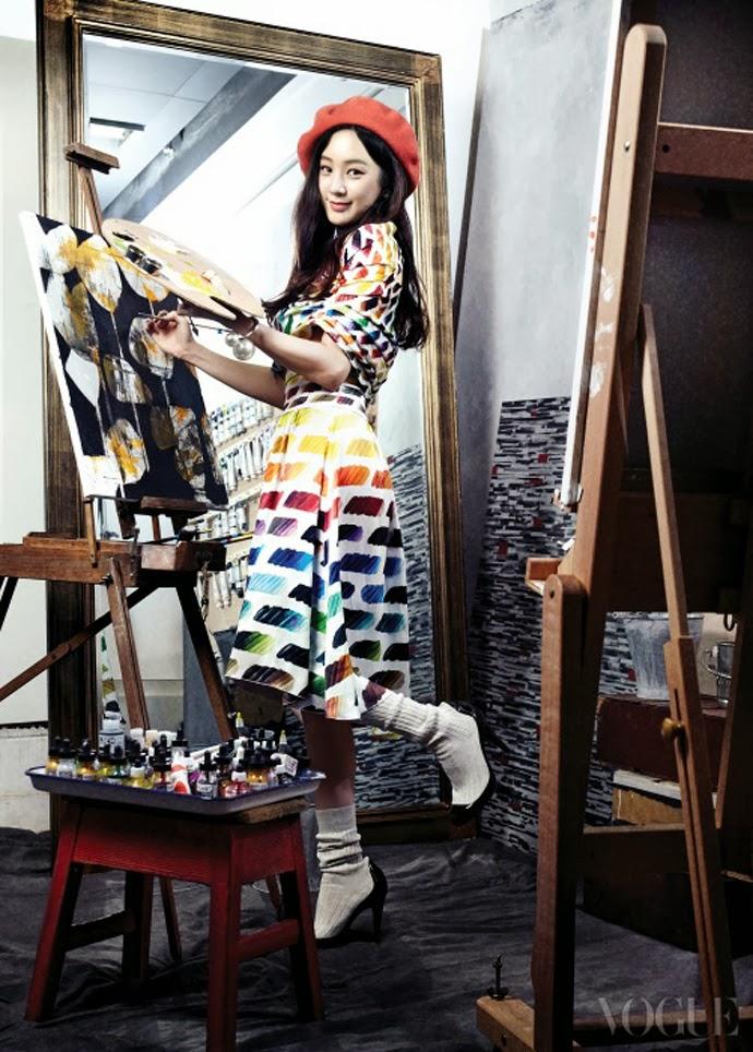 Jeong Ryeo Won - Vogue Magazine March Issue 2014