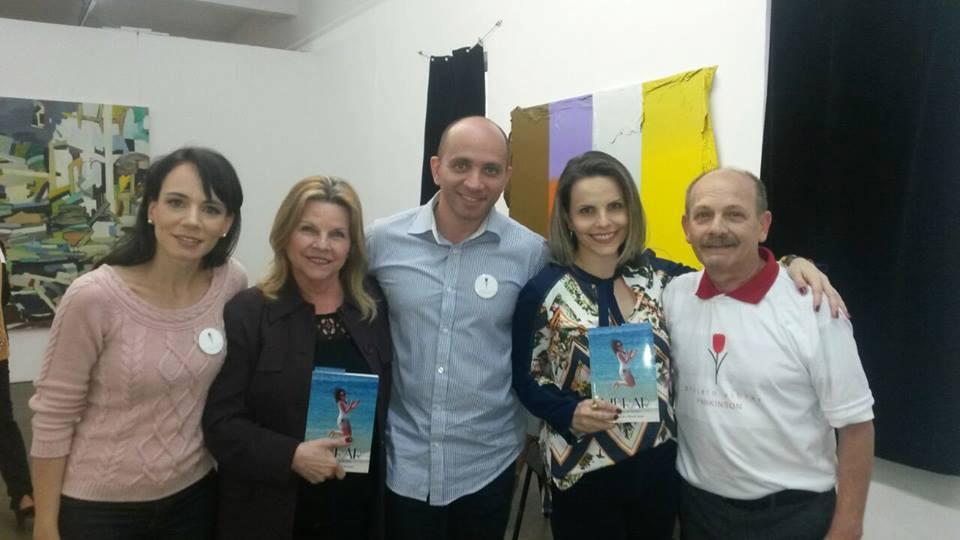 Família Ianzer com Terezinha e Luciana Ressinetti