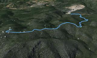 Recorregut: Carretera BV-2411-Puig de la Mola